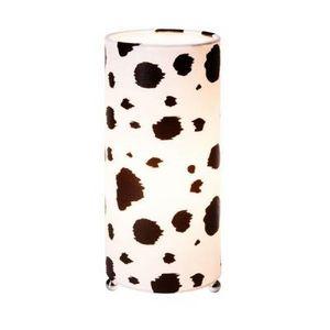 Delta - lampe de table décor vache - Lámpara De Sobremesa
