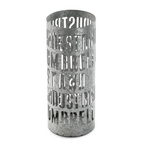 VERSA - porte parapluie loft métal galvanisé - Paragüero