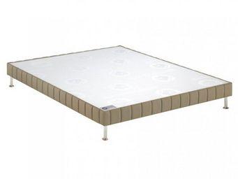 Bultex - bultex sommier tapissier confort ferme daim 100*2 - Canapé Con Muelles