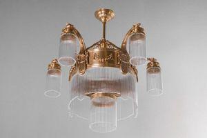 PATINAS - strasbourg 5 armed chandelier - Araña