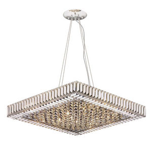ALAN MIZRAHI LIGHTING - amls068 diamond baguet - Araña