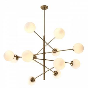 ALAN MIZRAHI LIGHTING - al0145 chandelier tortora - Araña