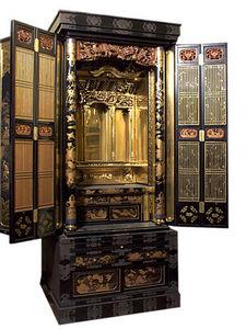 ANTIQUES LACARTA DECORACIÓN - japanese furniture oratorio - Aparador De Dos Cuerpos