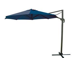 TRAUM GARTEN - parasol excentré rond 3m en alumium et toile polye - Sombrilla Con Soporte Lateral