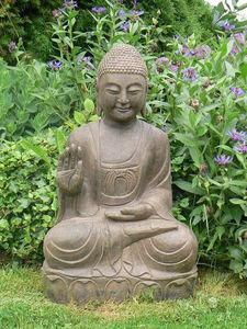 Asian-Decoration - bouddha assis - Estatua