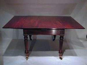 BAGGOTT CHURCH STREET - gentleman's metamorphic library table - Mesa Extensible