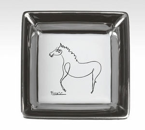MARC DE LADOUCETTE PARIS - picasso le cheval 1920 8x8cm - Vaciabolsillos