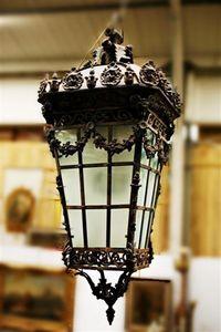 Nord Antique & Tanchis - lanterne d'intérieur - Linterna