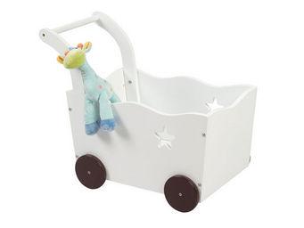 Miliboo - etoile coffre jouets chariot - Baúl Para Juguetes
