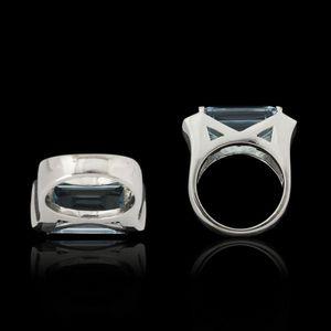 Expertissim - bague or, topaze et diamants - Anillo