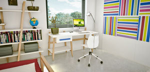 Cia International - allwood - Mueble Para Ordenador