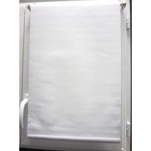 Luance - store enrouleur occultant blanc 45x180cm - Estor Enrollable