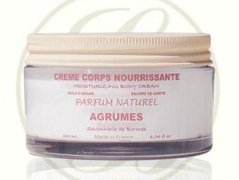 Savonnerie De Bormes - crème de corps aux karité & argan, parfum agrumes - Crema Para El Cuerpo