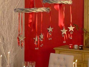 Interior's - en rotin 3 �toiles - Decoraci�n De �rbol De Navidad
