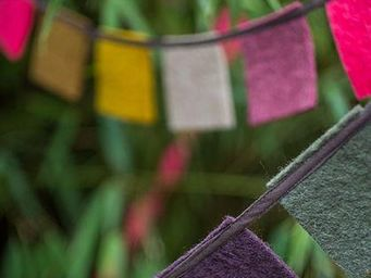 MUSKHANE - guirlande drapeaux de pri�res - Guirnalda Para Ni�os