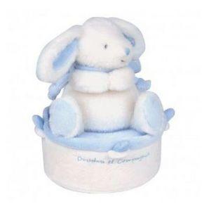 Doudou & Compagnie - lapin bonbon - Peluche Musical
