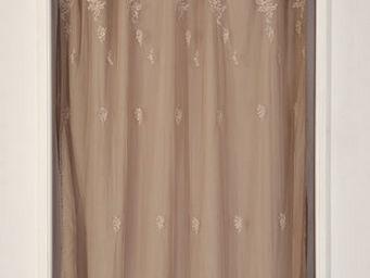 Coquecigrues - paire de rideaux petite fadette lilas - Cortina Confeccionada