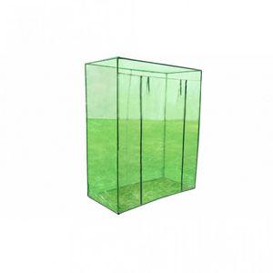 WHITE LABEL - serre de jardin 170x80x200 cm - Invernadero