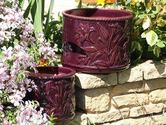 Les Poteries D'albi - fleurs de lys - Jardinera De Flores