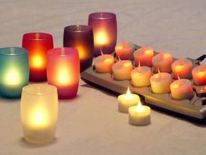 SMART CANDLE FRANCE -  - Vela Calientaplatos