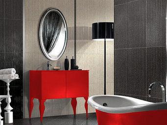 UsiRama.com - meuble salle de bain baroque chevalier rouge - Mueble De Ba�o Dos Senos