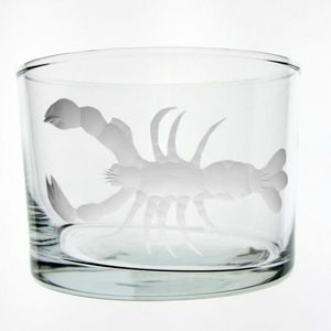 Au Bain Marie - verre droit bas homard - Vaso