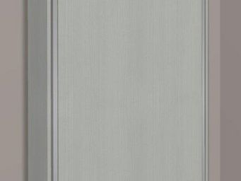 WHITE LABEL - armoire lit escamotable cronos, ch�ne gris . matel - Armario Cama