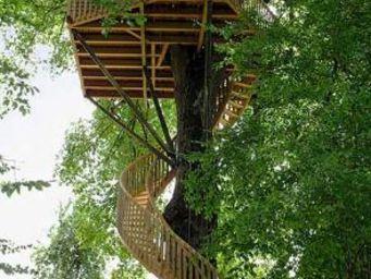 La Cabane Perchee -  - Cabaña En Árboles