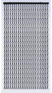 Aubry-Gaspard - rideau de porte sixties - Cortina Confeccionada