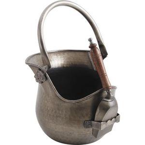 Aubry-Gaspard - seau cendres cheminée - Cubo Para Ceniza