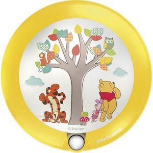 Philips - veilleuse winnie the pooh détecteur led d9,5 cm - Aplique Para Niños