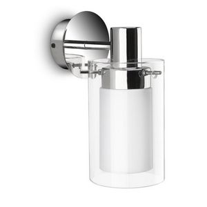 Philips - applique en verre salle de bain care ip44 h18 cm - Aplique De Cuarto De Baño