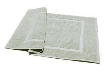 Liou - tapis de bain gris perle - Alfombra De Baño