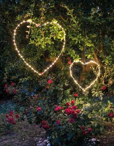 FIORIRA UN GIARDINO - coeur - Lampara De Jardin Led