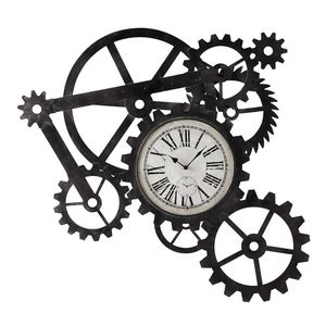 Maisons du monde - engrenage - Reloj De Pared
