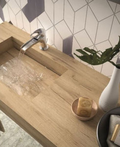 CasaLux Home Design - +vasque intégrée ... - Superficie De Aseo