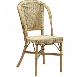 DECO PRIVE - chaise en rotin - Silla De Jardín