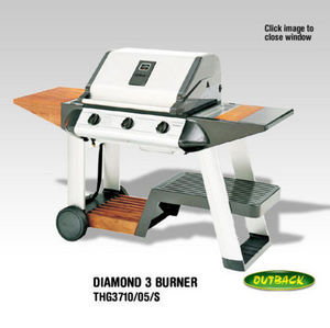Outback (black Knight Barbecues)ltd -  - Barbacoa Eléctrica