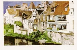 Didier  Gaujoux -  - Acuarela