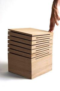 Design Pyrenees Editions - bois - Taburete
