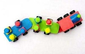 Indonesia Wooden Toys Corps - iv - Tren