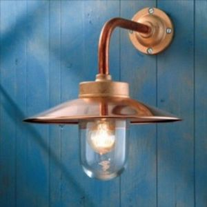 Light Concept - quay light cuivre - Aplique De Exterior