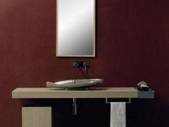 SCARABEO CERAMICHE - accessori bagno line, specchio, top appl - Espejo De Cuarto De Ba�o