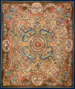Galerie Hadjer - tapis au point de la savonnerie - Alfombra Savonnerie