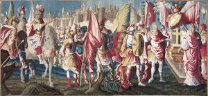 Galerie Hadjer - le siege de jerusalem - Tapicería De Aubusson