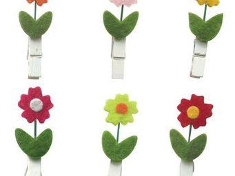 CREAVEA - fleurs - Pinza De Ropa