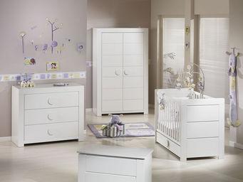 Sauthon - zen blanc - Habitación Bebé 0 3 Años
