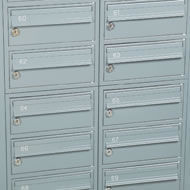 Safety Letter Box - steel 2 - economy ppc - Buzón