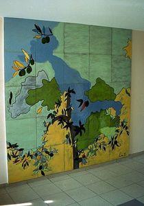Emmanuelle Parent -  - Panel Decorativo