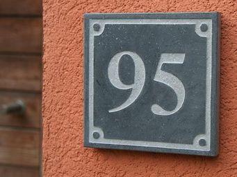 Signum Concept - square 2 - Número De Puerta